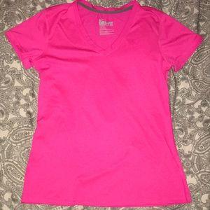 Pink Nike tee shirt